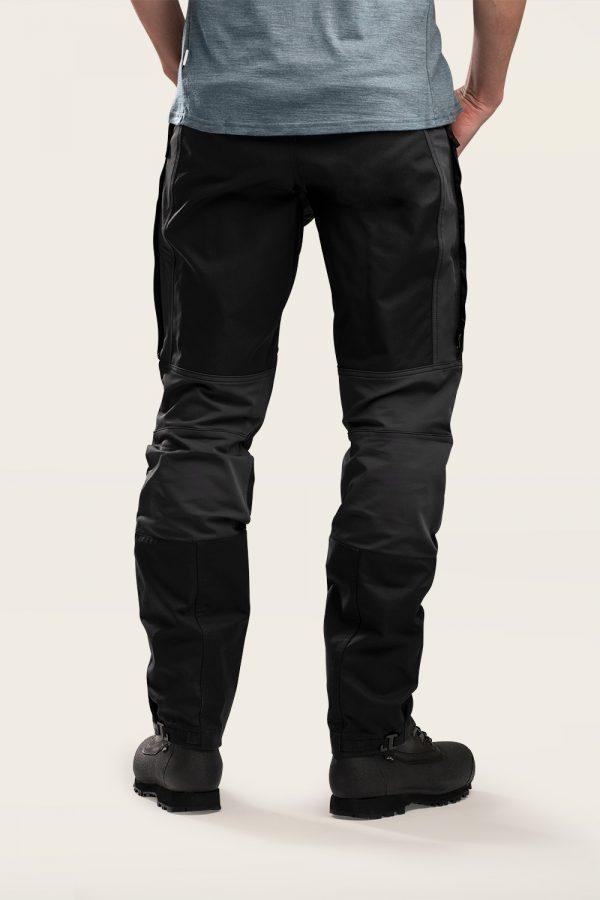 Norra Ljung Outdoor Pants Men back view