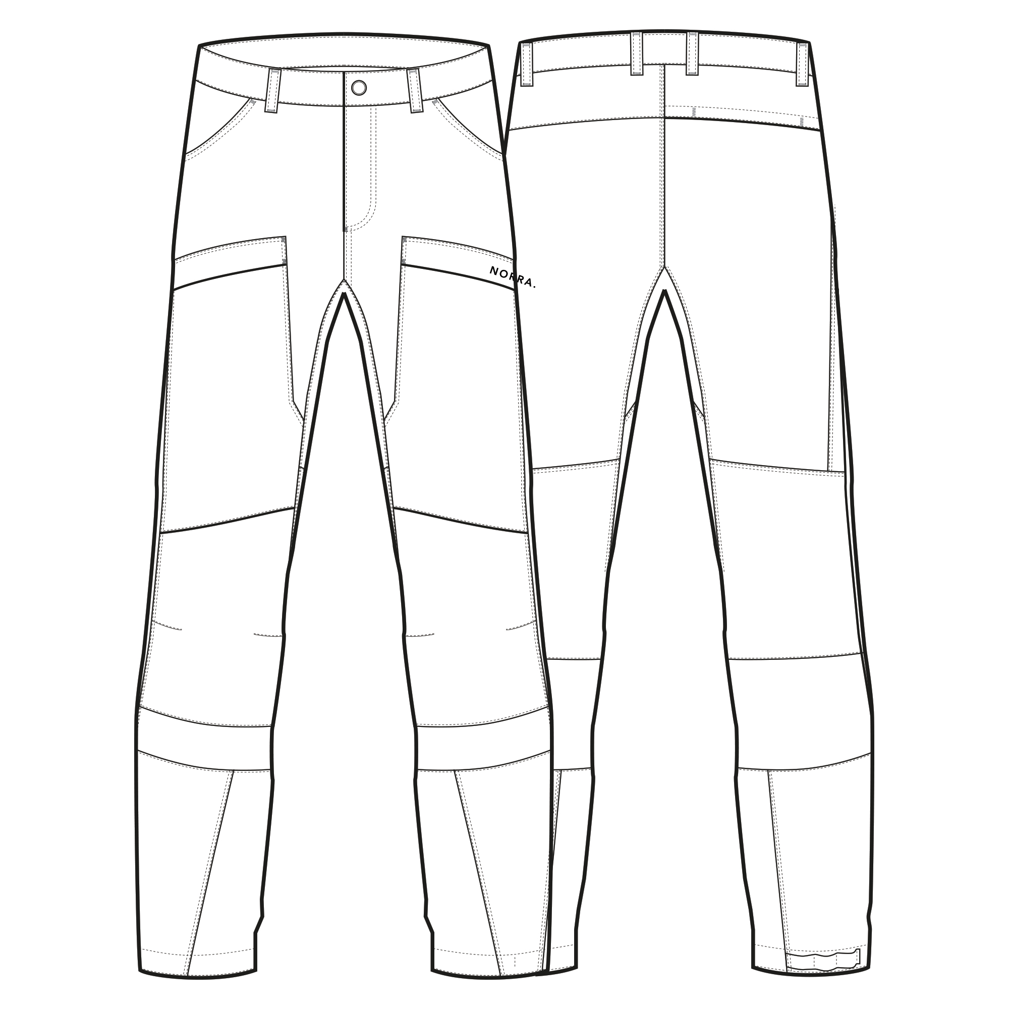 Pant design