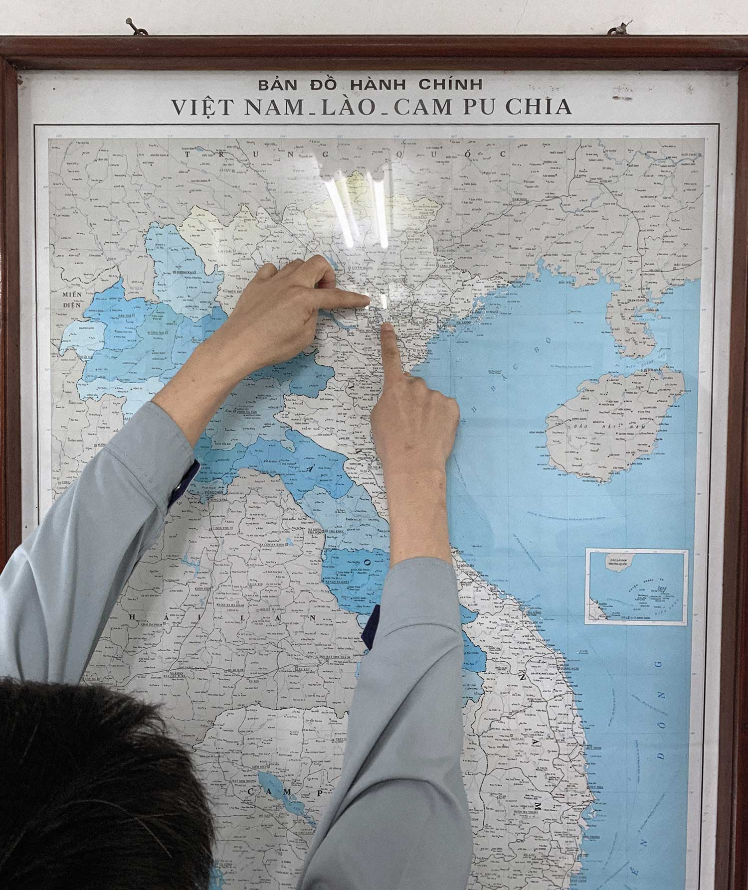 map over Hanoi