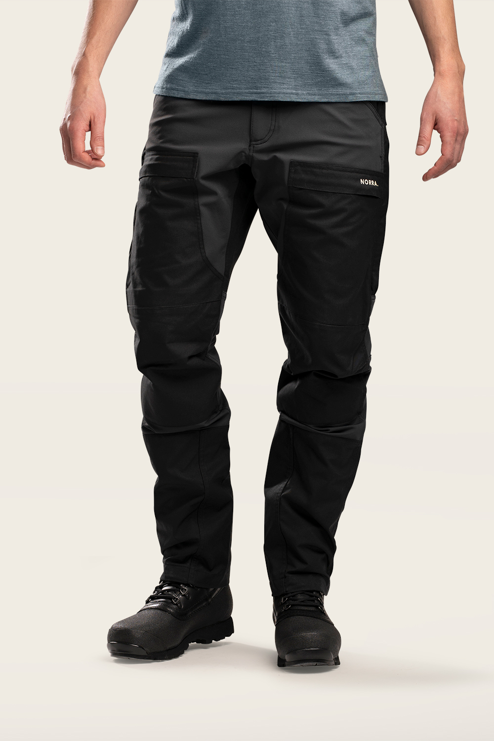 Norra Ljung Outdoor Pants Men front view