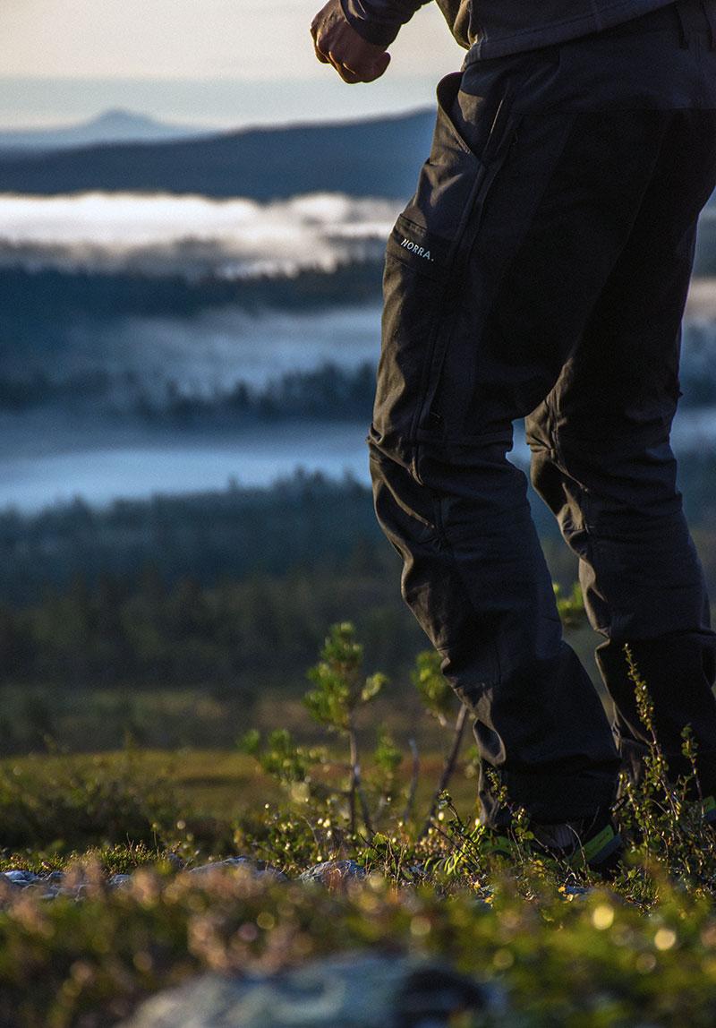 Norra Ljung Pants tested in Sweden