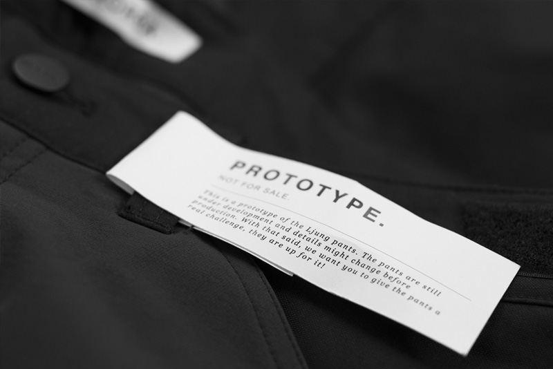 Prototype label