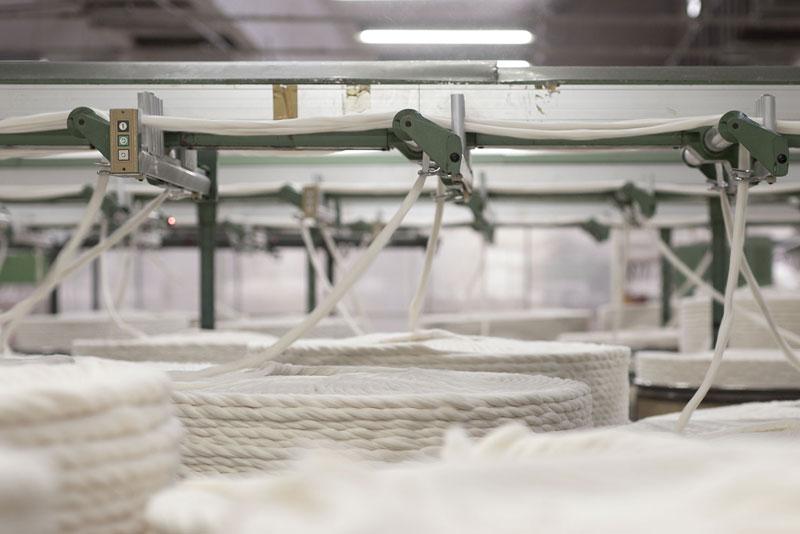 Fabric fibers
