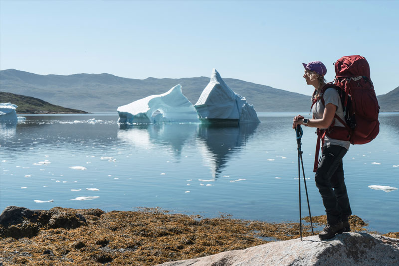 Ljung pants on Greenland