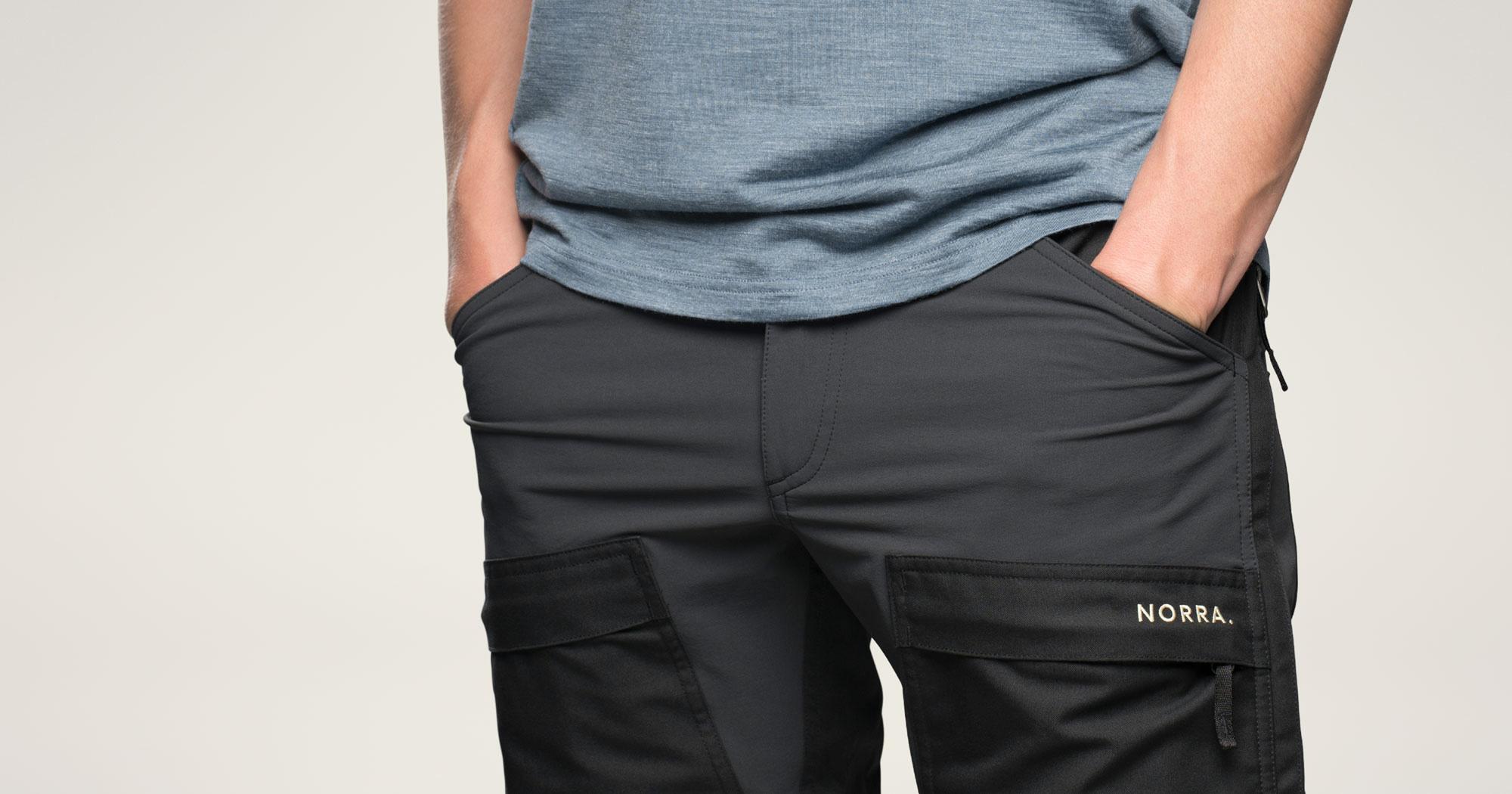 Ljung pants front pockets