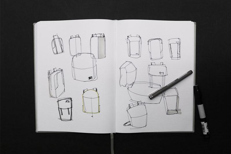 Norra sketch book