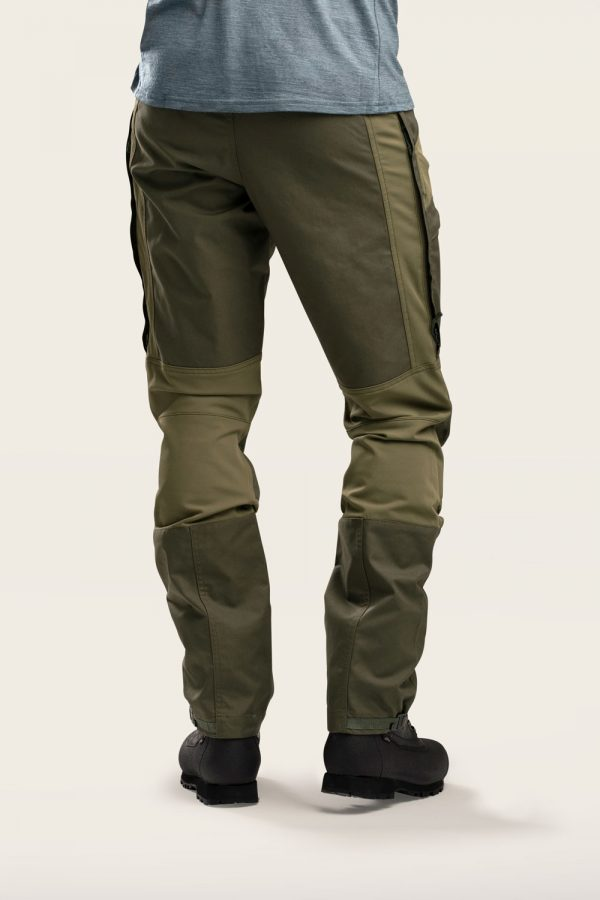 Norra Ljung Outdoor Pants Women back view